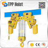 Hsy type 5 tone Electric chain Hoist with Motorized Trolley