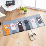 Soem-ODM-Form-Wohnzimmer-rutschfeste kundenspezifische Fußboden-Matte