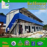 La estructura de acero de edificio de diseño de la casa para vivir/casa prefabricada/contenedor/Prefabricate Casa Villa Chalet