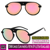 15966 Euro-America unissexo estilo retro Star óculos de sol