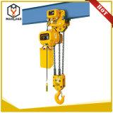 élévateur lourd de levage de bloc à chaînes d'usage de matériaux de 7.5t 5m