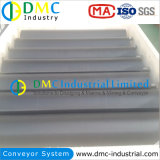 La maquinaria de construcción uso por parte de UHMWPE rodillo transportador de plástico