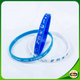 Heißer Verkaufs-Silikon-Armband-Handgelenk-Band-kundenspezifischer SilikonWristband