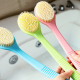 Escova do corpo do chuveiro com do chuveiro o purificador Cerda-Topnotch macio super para trás
