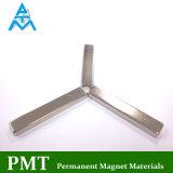 De Permanente Magneet van de ring en van de Cilinder met Nikkel en Gouden Deklaag