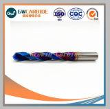 Le carbure de tungstène Twist percer pour les métaux pour le bois