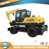Excavador de la rueda Yrx100-9 con el consumo de petróleo inferior
