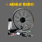 Agile 250W 350W Kit bicicleta eléctrica China con soporte técnico