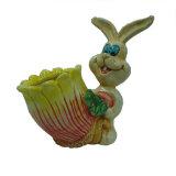 ホツプポケットが付いているイースターのウサギ