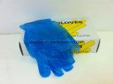 Guanti a gettare di plastica liberi della polvere di uso medico e del vinile Glove/PVC della polvere