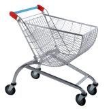 carro de compra redondo do supermercado do trole da cesta 80L