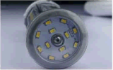 ETL UL Dlc Driver Detachable IP65 80W Corn Lamp 7 Years Warranty IP65 E39/40