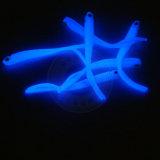 La lueur lumineuse de poudre de phosphore de couleur de bleu de ciel dans la poussière photoluminescente foncée de pigment luminescent de poudre pour la pêche leurre l'enduit