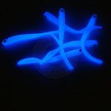 La poudre Noctilucent, lueur dans la pêche foncée de phosphore leurre le colorant