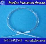 C Shape do tubo de aquecimento de quartzo de fibra de carbono