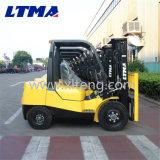 Preço do competidor 3 toneladas caminhão de Forklift Diesel de 5 toneladas