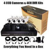 "4CH DVR Kits 1/3 "" Sharp 960h CCC Outdoor Cameras"