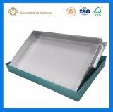 Gesichtsschablonen-verpackenkasten mit UVdrucken auf silbernem Verpackungs-Papier als Schaukarton