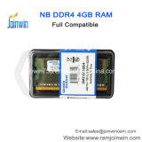 Китай на заводе продажи 4 ГБ памяти DDR4 DRAM ноутбук оперативной памяти Memory Stick цена