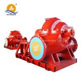 Motopompa antincendi lungo un asse spaccata del motore diesel della cassa della centrifuga