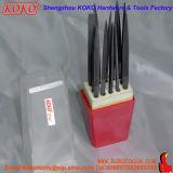 insieme di archivio rosso professionale d'acciaio dell'ago di imballaggio del sacchetto del cuscinetto 12PCS (121312)