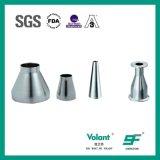 ステンレス鋼の衛生風変りな締め金で止められた減力剤の管の減力剤