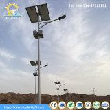 Luz de rua solar usada comum de República dos Camarões 7m Pólo 40W