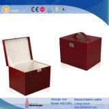[نو برودوكت] كبيرة فراغ مربع جلد مجوهرات تخزين حالة صندوق (5213)