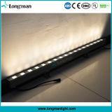 Iluminação clara ao ar livre branca da parede do diodo emissor de luz do poder superior 18PCS 2W