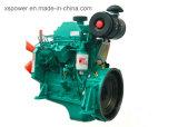 Motor diesel 4BTA3.9-G1 de Cummins con el gobernador mecánico para el conjunto de generador