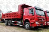 Heavy Truck utilizado 6*4 HOWO Caminhão Basculante, caixa basculante, Dumper Truck com baixo preço de venda quente no mercado da África