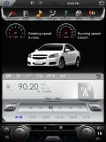 Coche androide DVD para las piezas de automóvil del crucero de la pista de Toyota