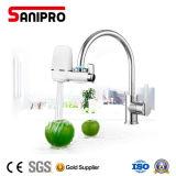 Tapkraan van Sanipro zette de Filter van het Water met Geactiveerde Koolstof op
