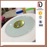 Piano d'appoggio di vetro di cerimonia nuziale di alluminio di 35 pollici Susan pigra (BR-BL019)