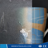 Badezimmer-Muster-Glas/tönte darstellte Glas des Glas-/Nshiji/rosafarbene Flora farbiges Glas des gekopierten Glas-/Mislite/farbiges gerolltes Glas/farbiges Buntglas ab