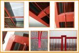 Recubierto de PVC muebles 6ftx10FT Canadá valla temporal