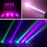 Gbr LED 60W Mini RGBW Haz cabezal movible de iluminación de escenarios