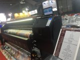 Impresora solvente de Xuli los 3.2m Eco con la pista de Xaar1201 4PCS