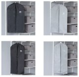 ポリエステルFoldable 600dジッパーのカスタムロゴはスーツカバー袋を印刷した