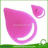 Spazzola pulita dell'acquazzone di bambino della spazzola del fronte della gomma di silicone