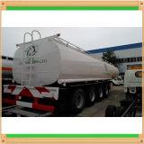 45kl 38mt Proveedor 3 Ejes contenedor cisterna ISO 40 pies tráiler