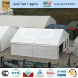 サイドウォールが付いている白い雨証拠PVCカスタムプリント軍隊の軍のテント