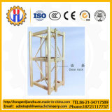 Seção do mastro da grua da construção para o edifício da construção
