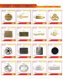 Marchio del metallo dell'OEM di marchio di Deboss per gli accessori della valigia del sacchetto di corsa