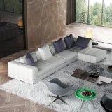 Salon moderne de modèle réglé de sofa de tissu
