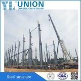 Estructura de acero prefabricada JIS, ASTM, estruendo, Bsen del marco del aguilón