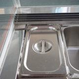Grande vetrina del gelato del frigorifero/del gelato di capienza/vetrina di Gelato