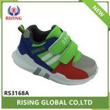 Diseño de moda más reciente de la magia al aire libre Deporte zapatos hebilla PU