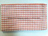 Produtos OEM verificações personalizadas de algodão Jacquard Tc CVC Terry Toalha