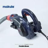 Воздуходувка давления всасывания електричюеских инструментов Makute 800W высокая